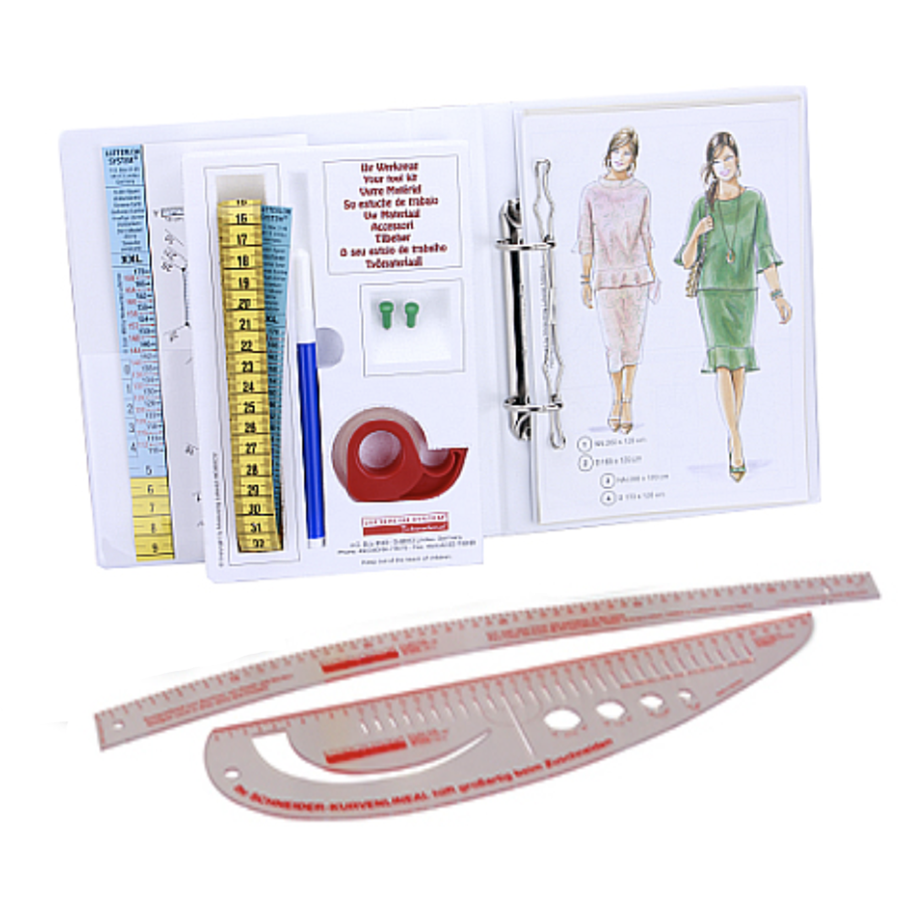 The Lutterloh System® XL & XXL<br> Edition no. 2 with Ruler-Set