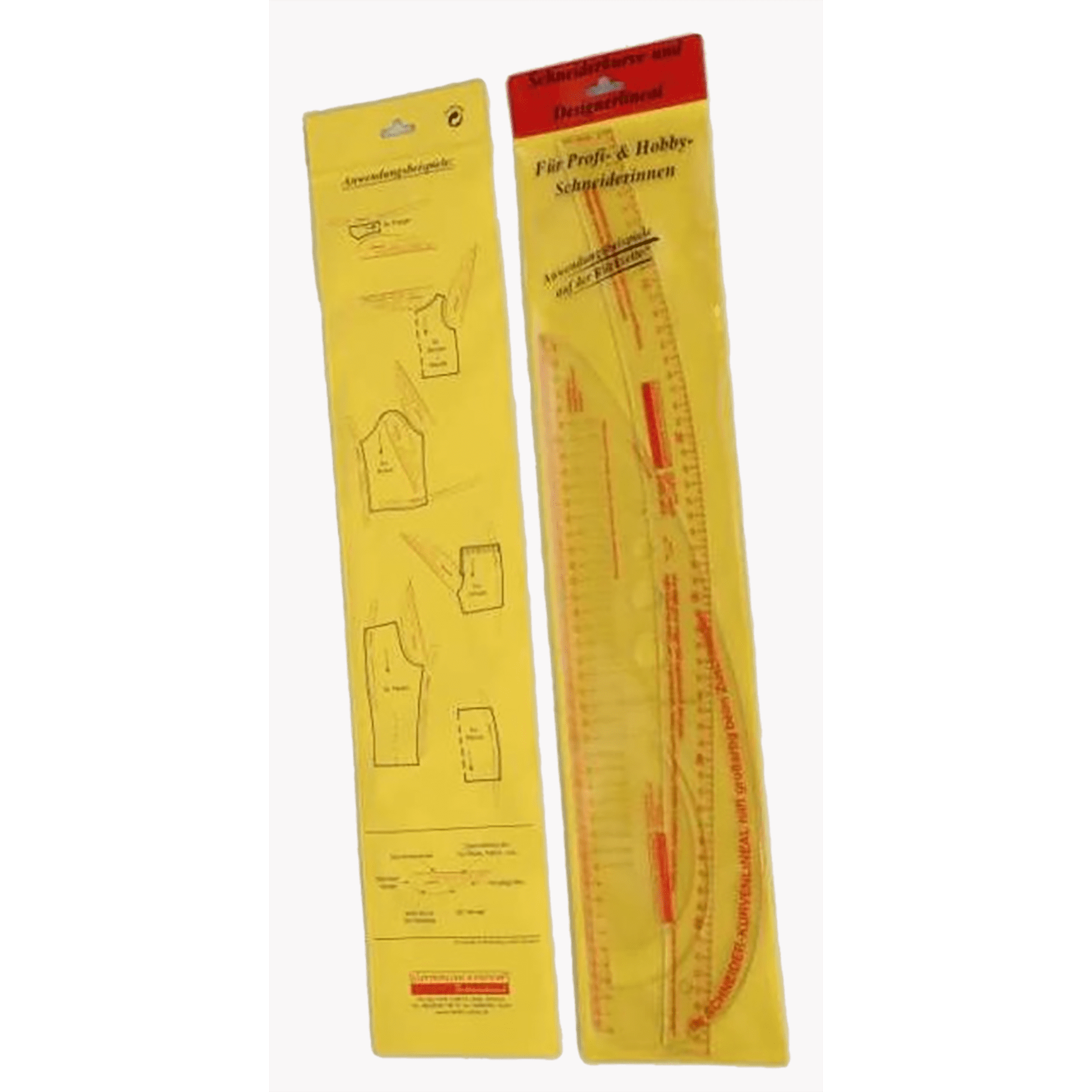 Ruler-Set<br>Tailors- and Designers-Curve